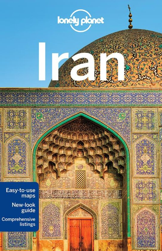 Lonely Planet Iran cover