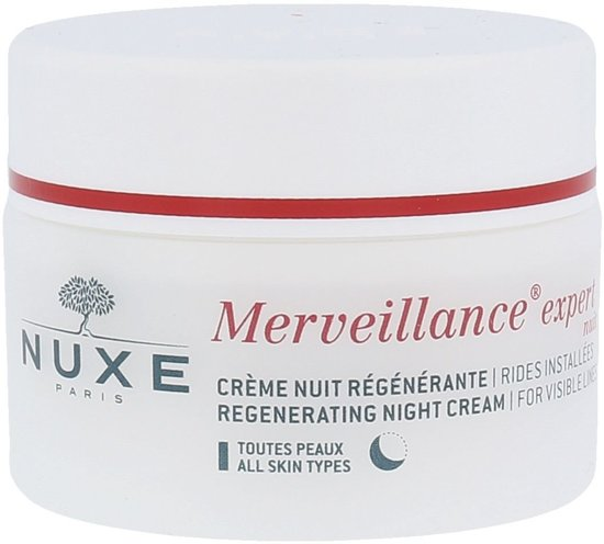 Nuxe Merveillance Expert Regenerating Night Cream For Visible Lines Nachtcrème 50 ml