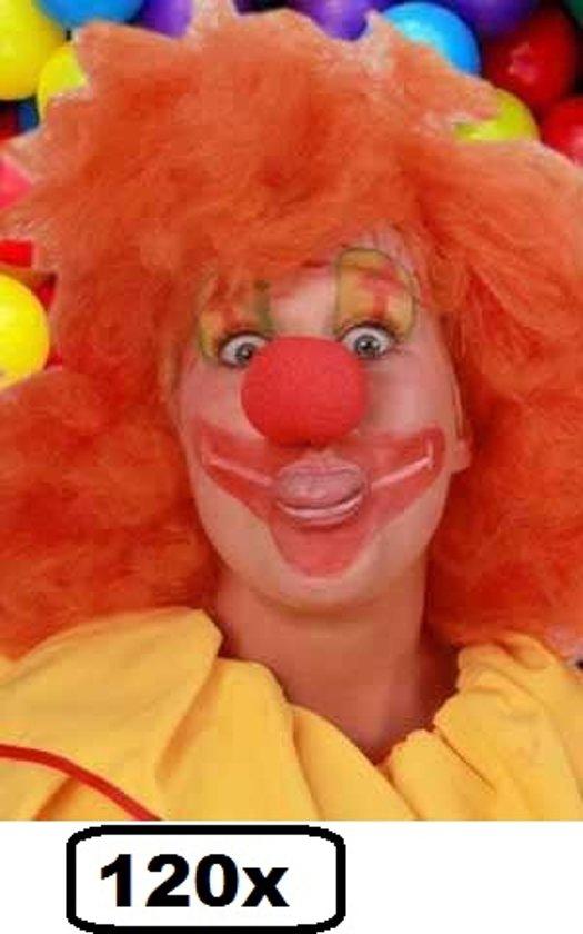120x Schuimneus clown rood