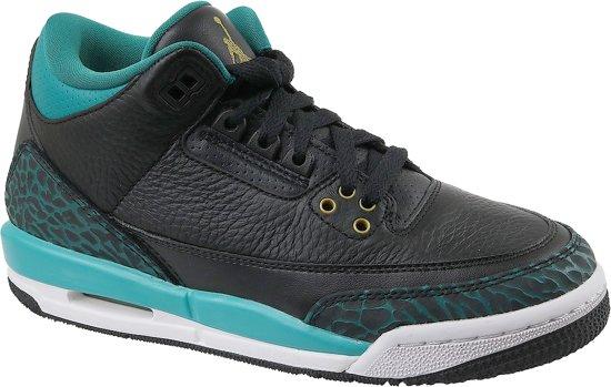 Nike 3 Retro GG 441140-018, Vrouwen, Zwart, Sneakers maat: 38.5 EU