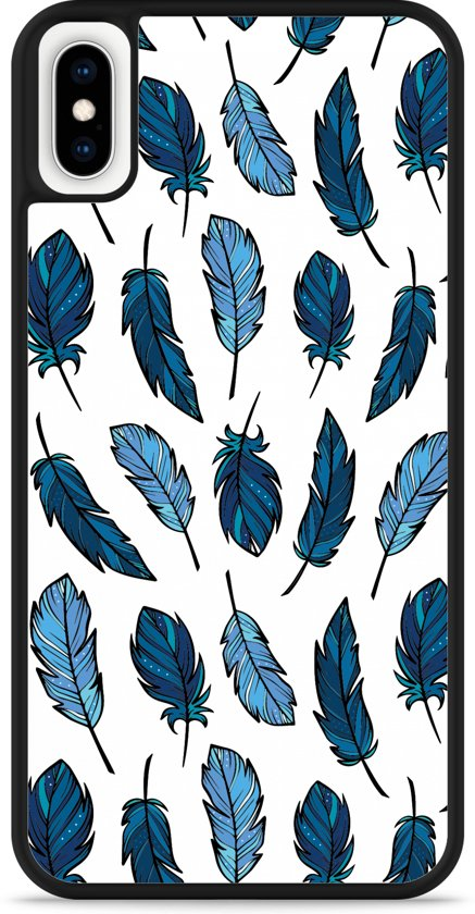 iPhone Xs Max Hardcase hoesje Feathers