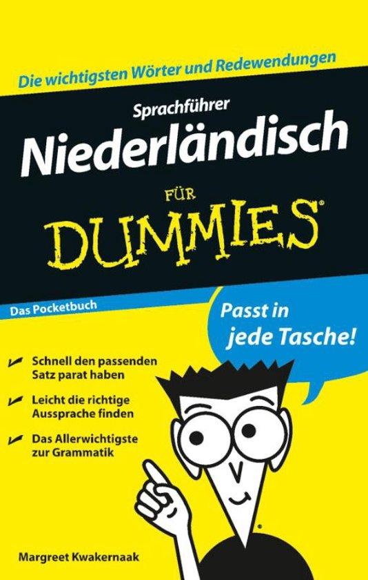 Sprachfuhrer Niederlandisch Fur Dummies Das Pocketbuch