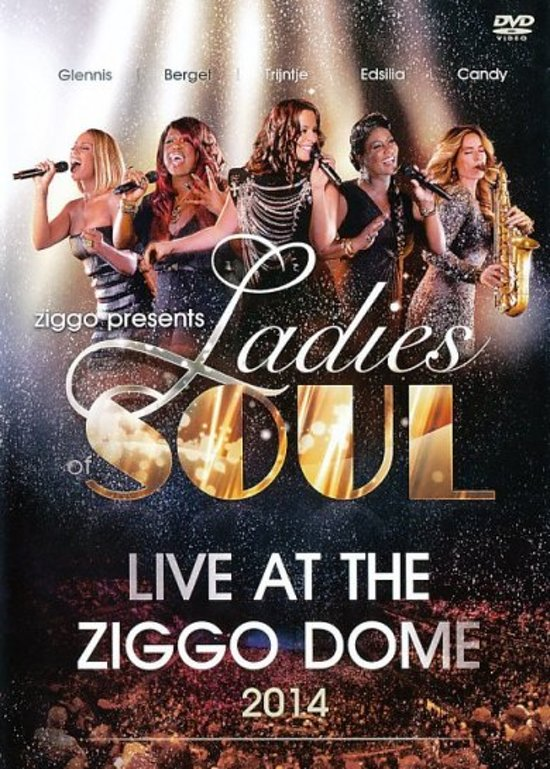 CD cover van Ladies Of Soul - Live At The Ziggodome 2014 (Dvd) van Trijntje Oosterhuis