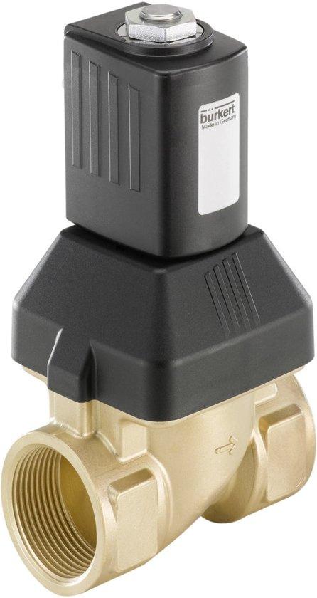 G1'' Messing 110VAC Drinkwater Vet/Olievrij Magneetventiel 6213 221668 - 221668