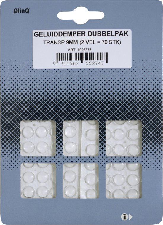 Qlinq Geluidsdemper - Zelfklevend -  9 mm