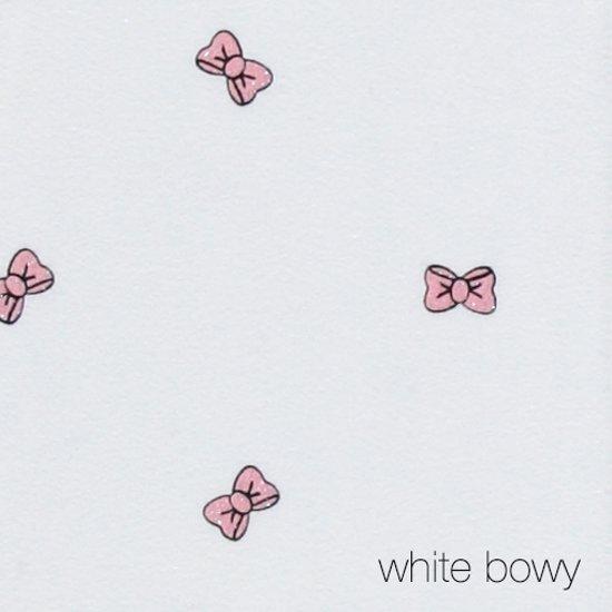Puckababy Piep Inbakerslaapzak 0/3 m - White Bowy
