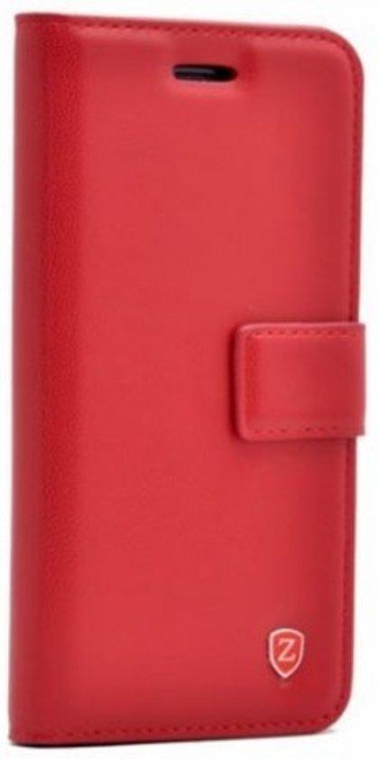 Teleplus Samsung Galaxy J4 Plus Wallet Case Red hoesje