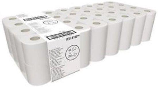 Toiletpapier 3-Laags Wit, rol à 250 vel, 72 rollen per pak