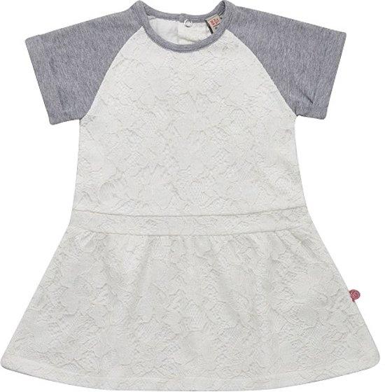 Minymo - jurk - kant - wit