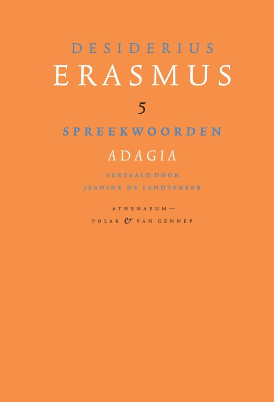 Bolcom Spreekwoorden Ebook Desiderius Erasmus