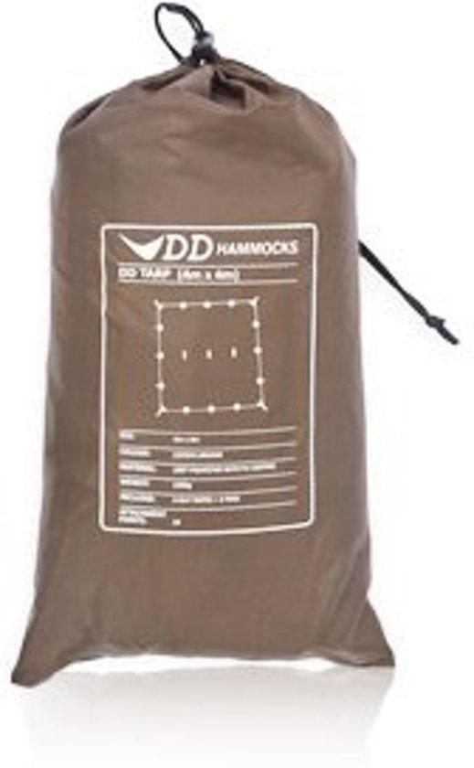 DD Hammocks Tarp 4x4 – Coyote Brown