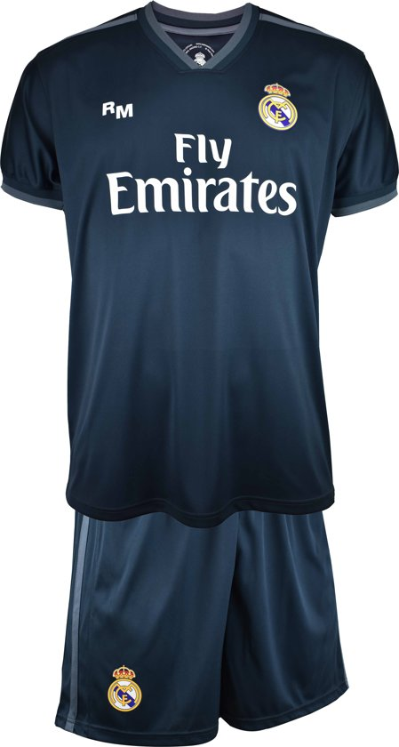 Real Madrid Replica Tenue Uit 18/19 - Kids