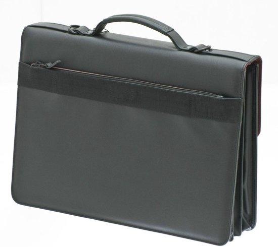 Davidts Merk Het Met 3 Briefcase Van zwart Compartimenten 4qtxnU