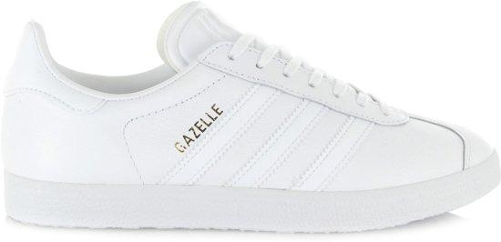 fe1ec4faee9de0 adidas Gazelle Sneakers Heren Sportschoenen - Maat 38 2/3 - Mannen - wit/