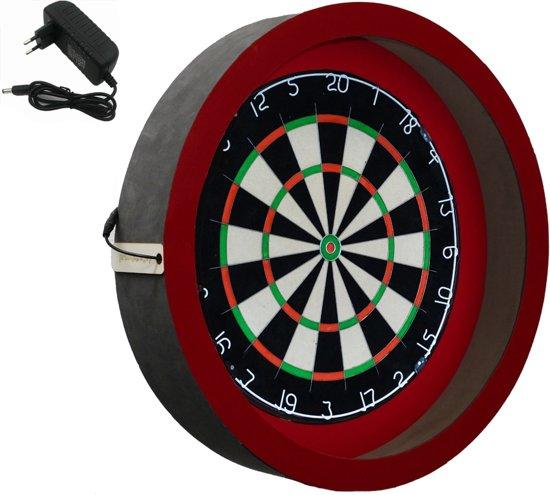 Dragon - Sorpresa PRO - rood - dartbord verlichting - dartbord berscherm ring