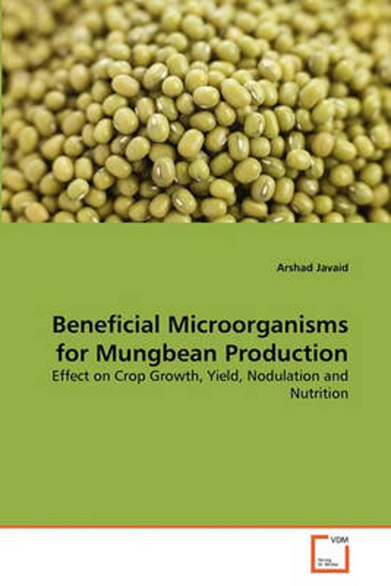 Beneficial Microorganisms for Mungbean Production
