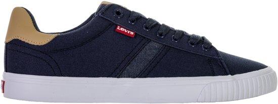 Levi Skinner Sneakers - Maat 43 - Mannen - navy/wit