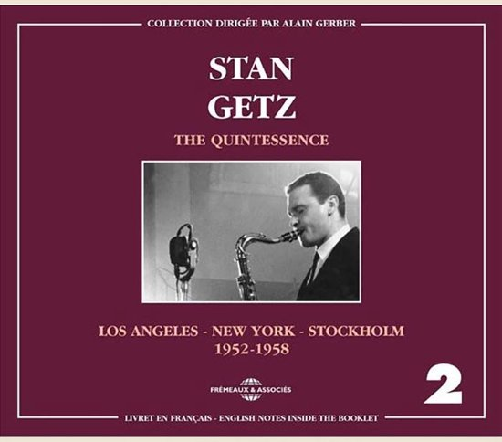 Stan Getz Vol. 2 The Quintessence L