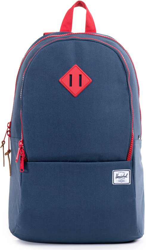 a3abdd21a Nelson Rugzak - Navy   Red   Red Rubber