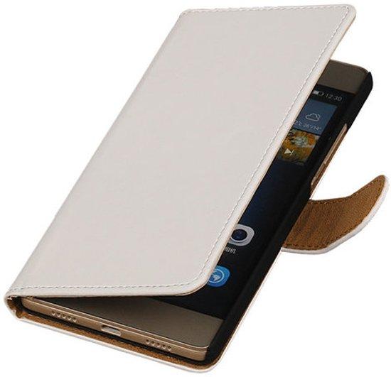 Boîtier Blanc De Type Livre Simple Pour Huawei Lite P8 gTI0aM