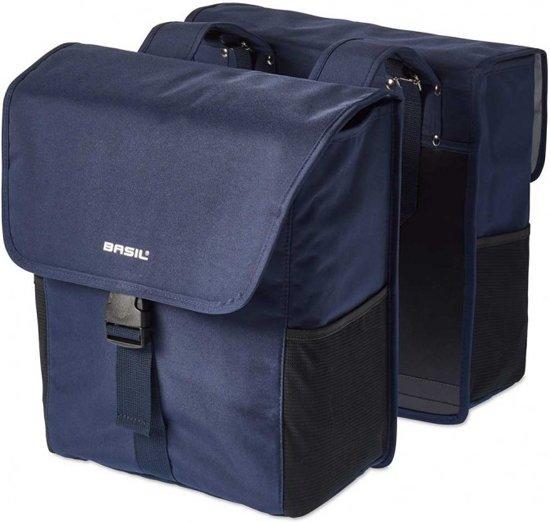 Basil Go Double Bag - Dubbele Fietstas - 32 l - Dark Denim Blue