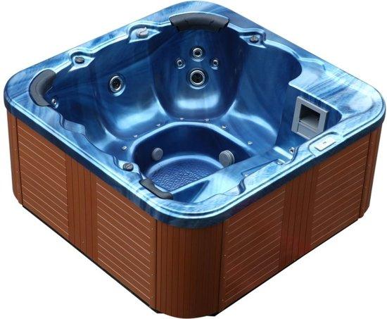 Beliani Whirlpool Sanremo blauw - Acryl