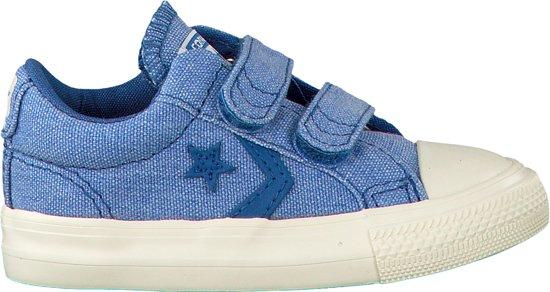 0962f9f0f6d Converse Meisjes Sneakers Star Player Ev 2v Ox Kids - Blauw - Maat 20
