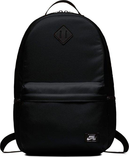 3cc33b291b5 bol.com | Nike SB Icon Backpack Rugzak Unisex - Black/Black/(White)
