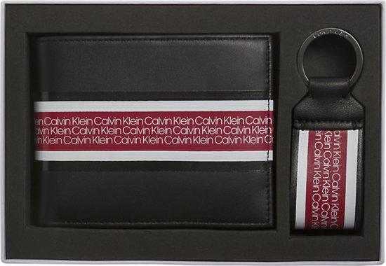 bb07cbc0d17 Calvin Klein - Vault - 5CC + coin heren portemonnee + keyfob giftbox - black