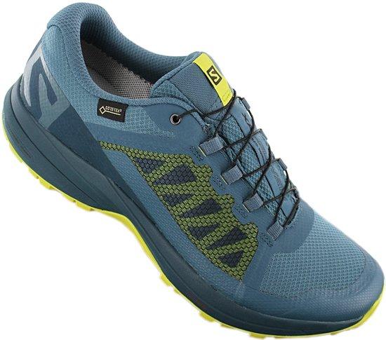 Salomon XA Elevate GTX Gore Tex 406116 Heren Sneaker Sportschoenen Schoenen Blauw Maat EU 42 UK 8