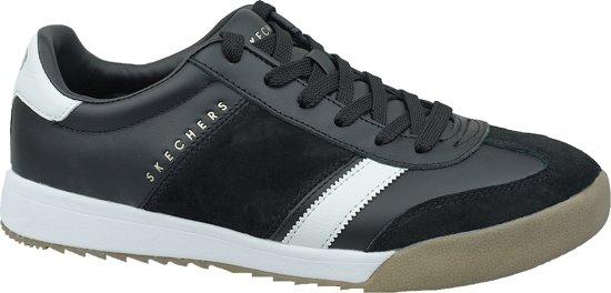 Skechers Zinger-Scobie 52322-BKW, Mannen, Zwart, Sneakers maat: 47.5 EU