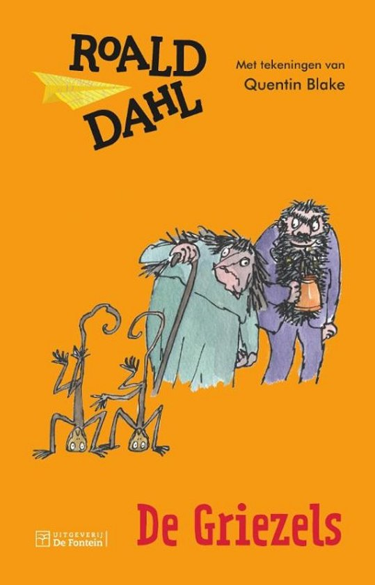 Boek cover De Griezels van Roald Dahl (Hardcover)