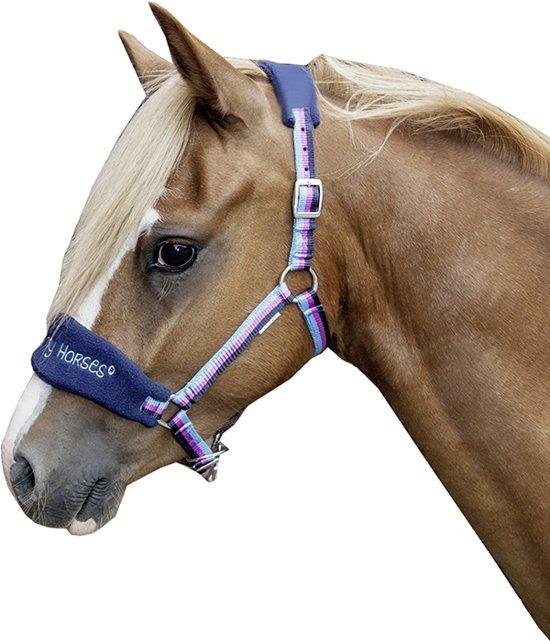 HKM Mini Shetty Halster Funny Horse - multi color - MINI SH