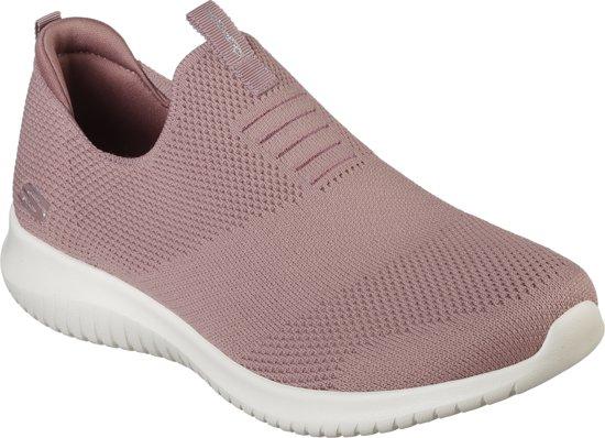 Skechers Ultra Flex Girls Fashion Sneakers Color: Black