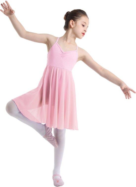 Lichtroze balletpakje Kenza maat 92