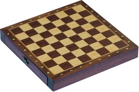 Schaakbord met Schuiven - Magnetisch