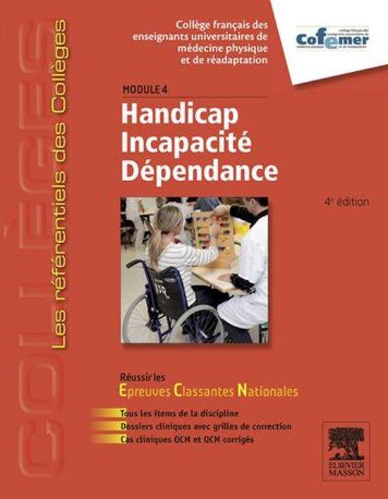 Boek cover Handicap - Incapacité - Dépendance van Cofemer (Onbekend)