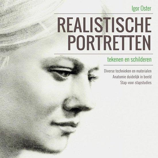 Realistische portretten tekenen en schilderen