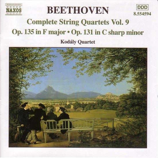 Beethoven: Complete String Quartets Vol 9 - Op 135 & 131 / Kodaly Quartet
