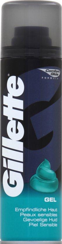 Gillette Basic Gevoelige Huid - 200 ml - Scheergel