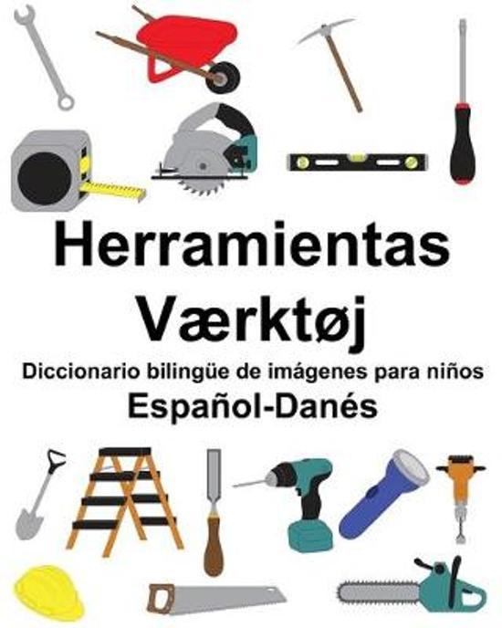 Espa�ol-Dan�s Herramientas/V�rkt�j Diccionario biling�e de im�genes para ni�os