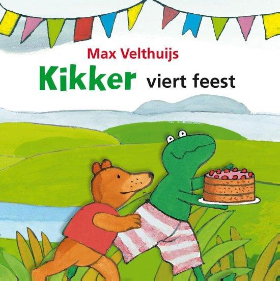 Boek cover Kikker - Kikker viert feest van Max Velthuijs (Onbekend)