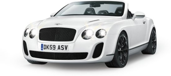 Jamara Bentley Continental GT Speed Cabrio - RC Auto