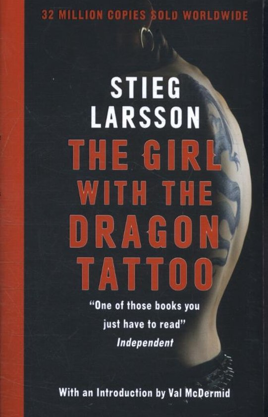 Boek cover Girl with the Dragon Tattoo (Nw Edn) van Stieg Larsson (Paperback)