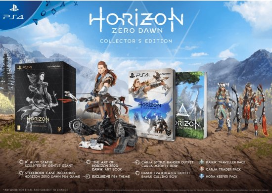 Horizon Zero Dawn - Collector's Edition PlayStation 4
