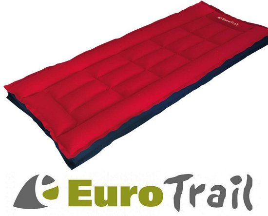 Eurotrail Box Single - Luchtbed - 1-Persoons - 190x72x13 cm