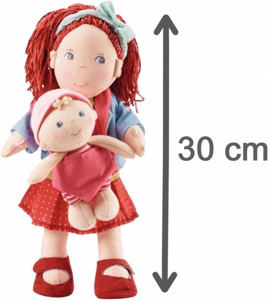 Haba Pop Rubina met baby - Stof