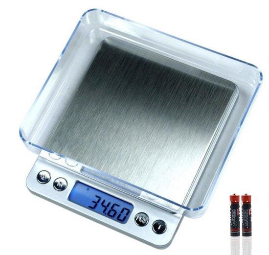 Digitale precisie weegschaal 2000g x 0.1 gram