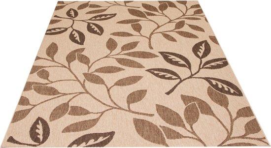 Carpet Decora bladeren natuur 80x150