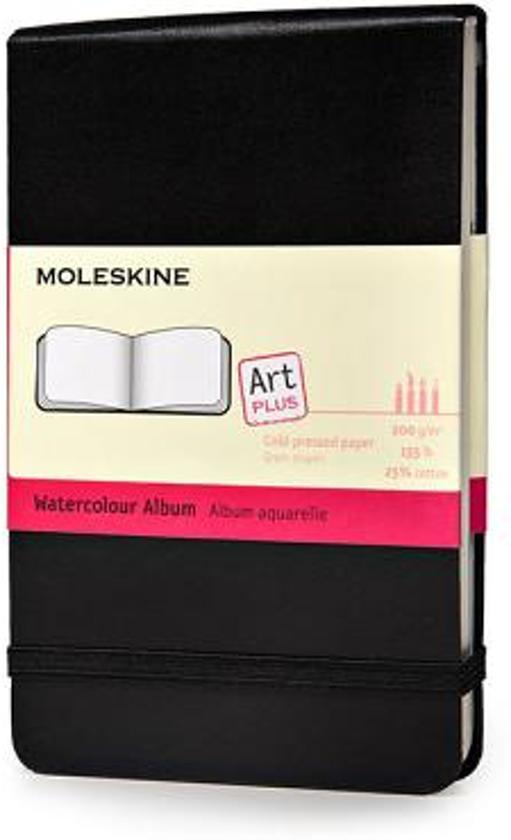 Moleskine waterverf notitieboek zwart - Pocket